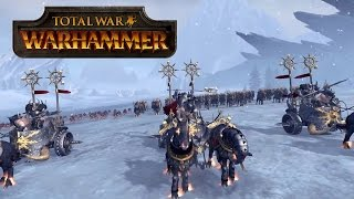 The Empire vs Chaos Warriors Let's Play (Official) - Total War: WARHAMMER