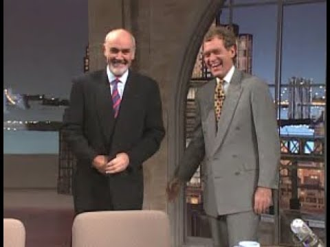 Sean Connery Collection on Letterman, 1993 & 2000