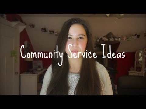 20 Community Service Ideas