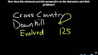 A Separate Peace: Chapter 9 QAR Discussion