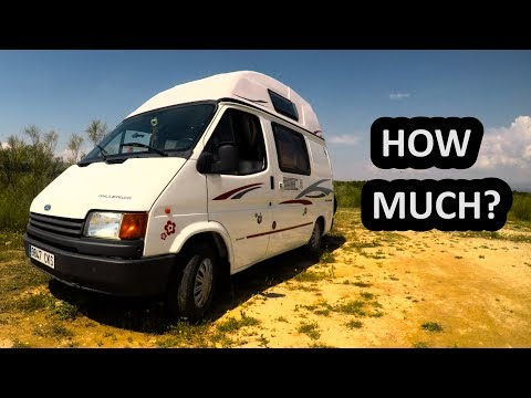 TRAVELLING EUROPE BY VAN – 6 MONTHS – HOW MUCH?