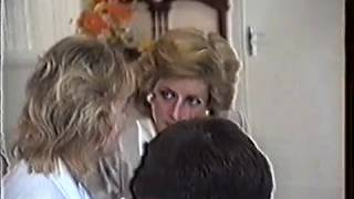 Princess Diana at Epilepsy Society 1989