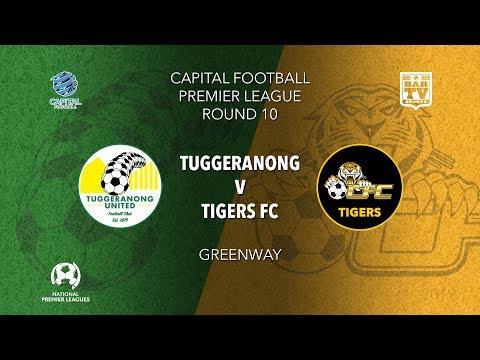 2019 Capital Football Premier League - U20's & 1st Grade Round 10 - Tuggeranong United v Tigers FC
