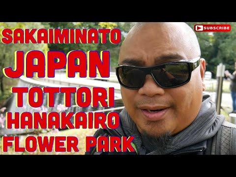 Eric B's Daily Vlogs #239 - SaKaiminato Japan, Tottori Hanakairo Flower Park