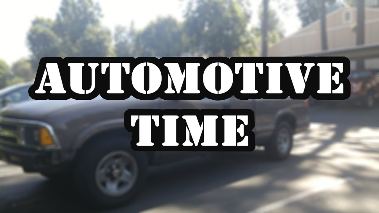 Automotive time! How to change the alternator in a 1997 Chevy s10 ...