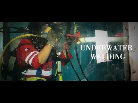 FIRST UNDERWATER WELDING TRAINING CENTRE IN MALAYSIA! Commercial Diving & Underwater Welding
