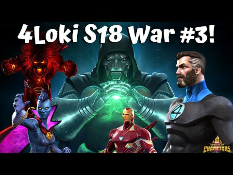 High Tier 4Loki Alliance War Season 18 #3! - Marvel Contest Of Champions
