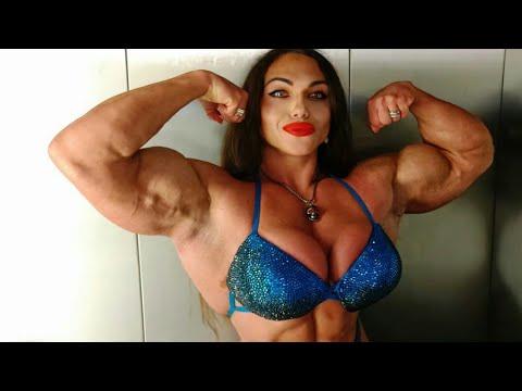 nataliya amazing female bodybuilder gym workout fitness