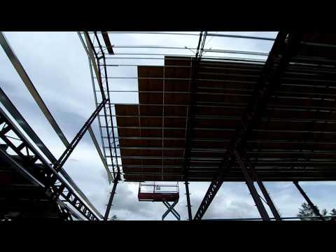 Episode 22: Finish Roof Framing And Roof Sheathing