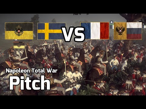 Napoleon Total War Online Battle #8 (2v2) - Swedish Fellow