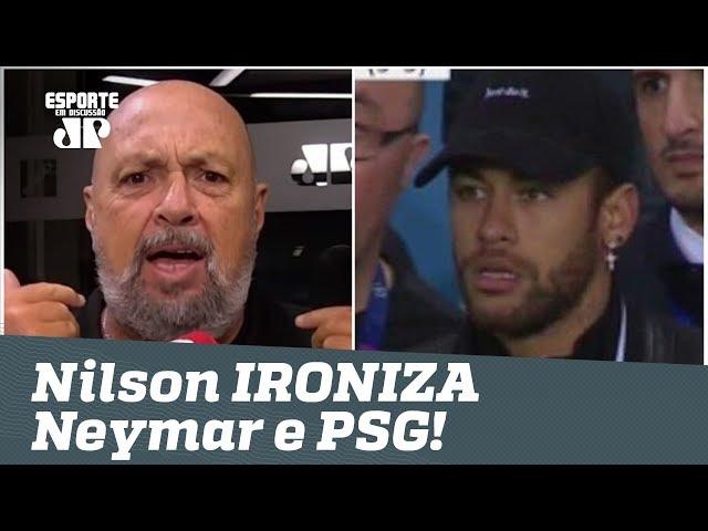 Deu UNITED! Nilson Cesar IRONIZA Neymar e PSG após VEXAME na Champions!