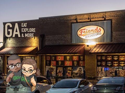 Friends American Grill Suwanee  Restaurant Spotlight & Food  *Updated location*