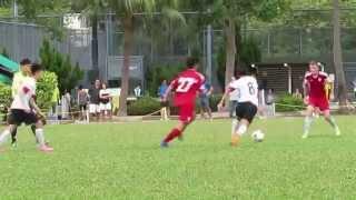 香港國際vs拔萃 2015 11 7 d1學界足球甲組 精華