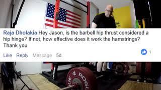 Jason Blaha Q&As January 20th, 2019 Part 2