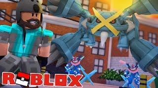 MEGA METAGROSS - ASH-GRENINJA GIVEAWAY!!!!!! | Pokémon Brick Bronze [#59] Roblox