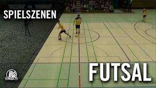 Hamburg Panthers - Futsal Hamburg (Halbfinale Rückspiel, Futsal Final Four 2016) - Spielszenen