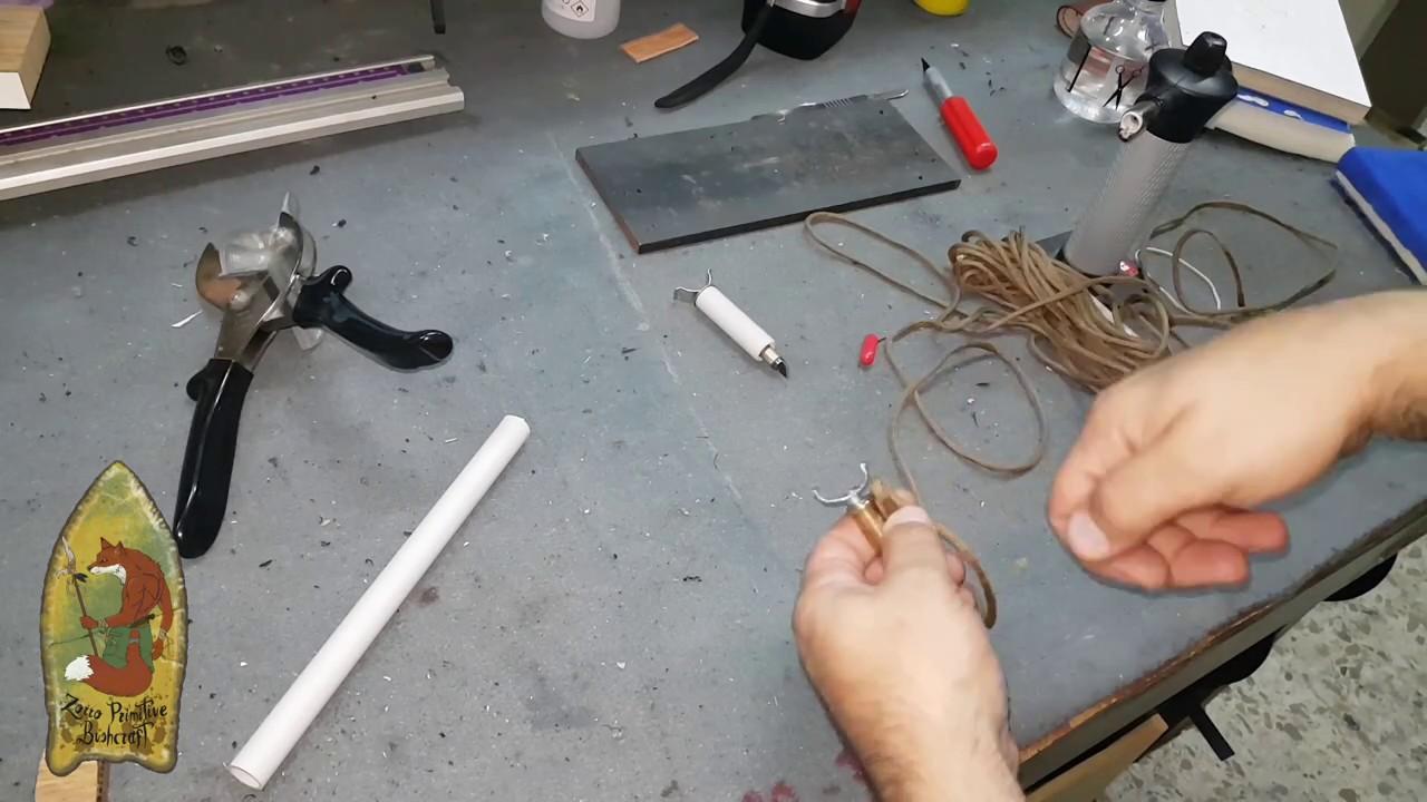 como hacer una cuchilla para dibujar en el cuero - YouTube