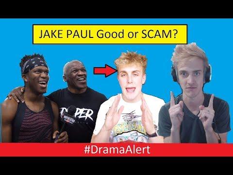 Jake Paul Good Guy or SCAM? #DramaAlert KSI & Mayweather , Sommer Ray , NINJA Fortnite GOD!