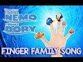 Finding Dory | Finding Nemo Finger Family Song Youtube Kids