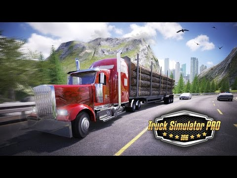 Truck Simulator PRO 2016 - iOS & Android trailer