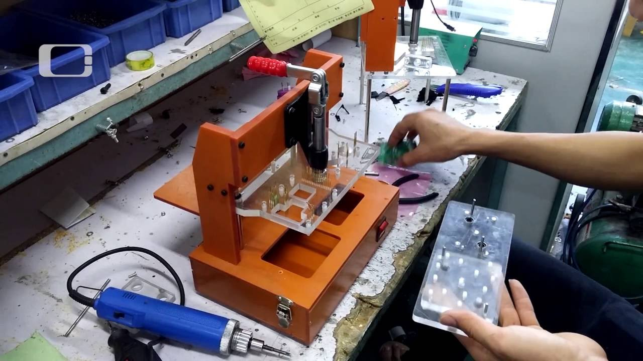 Electronics Test Jig : Making of test fixture jig for pcb pcba functional
