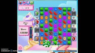Candy Crush Level 265 Audio Talkthrough, 3 Stars 0 Boosters