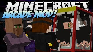 Repeat youtube video Minecraft | ARCADE MOD! (Claw Machines, Prizes & More!) | Mod Showcase