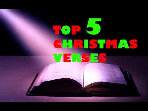 Top 5 Christmas Verses