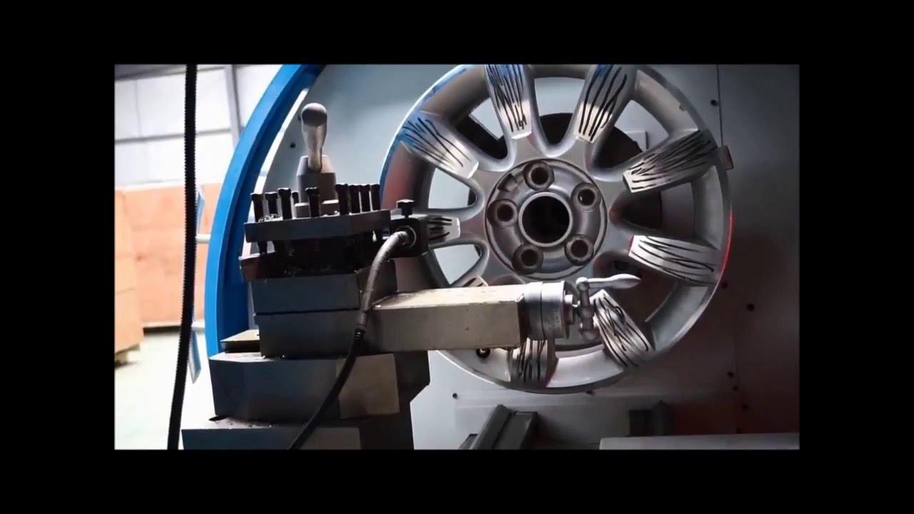 Tour a jante olympic awr youtube for Polir aluminium miroir