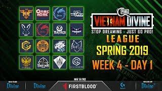 [VDL] MÙA XUÂN - TUẦN 4: Vikings White, FFQ, Divine, GameHome, VirusX, VGS, Paradise..