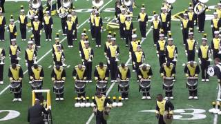 Temptation and Hawaiian War Chant  - University of Michigan Snare Line - Post Game Show - 8/30/13
