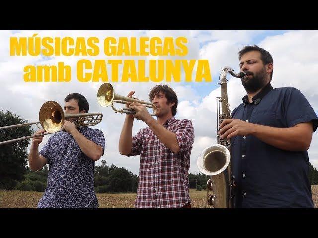 Músicas galegas interpretan L'Estaca en apoio ao 1-O