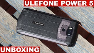 Ulefone Power 5 Unboxing