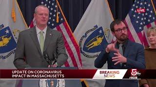 Gov. Baker: No shelter in place order planned for coronavirus response
