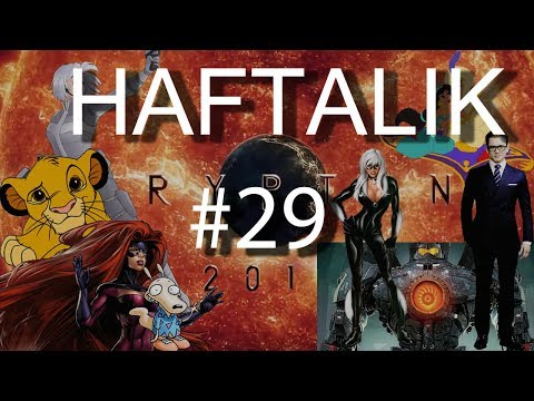 HAFTALIK #29 - IHUMANS - ROCCO'S MODERN LIFE - PACIFIC RIM 2 - KINGSMAN 2 - SHAPE OF WATER - KRYPTON