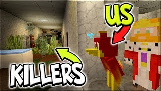 TRYING TO ESCAPE A ABANDONED HOSPITAL FULL OF GHOST'S !! - Minecraft xbox Soul Snatchers