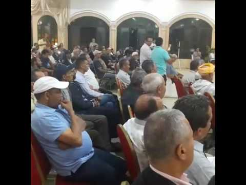 Rencontre de M. Aziz Rabbah avec les commerçants le 03/10/2016