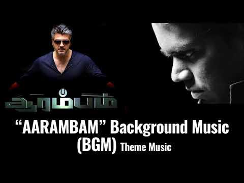 Aarambam  Arrambam  Background Music BGM  Theme Music MP3  Ajith Kumar  Arya  Nayantara