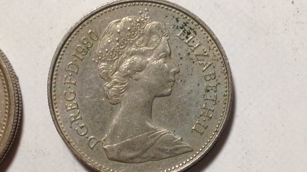 GREAT BRITAIN  1968 ELIZABETH II UK 10 NEW PENCE