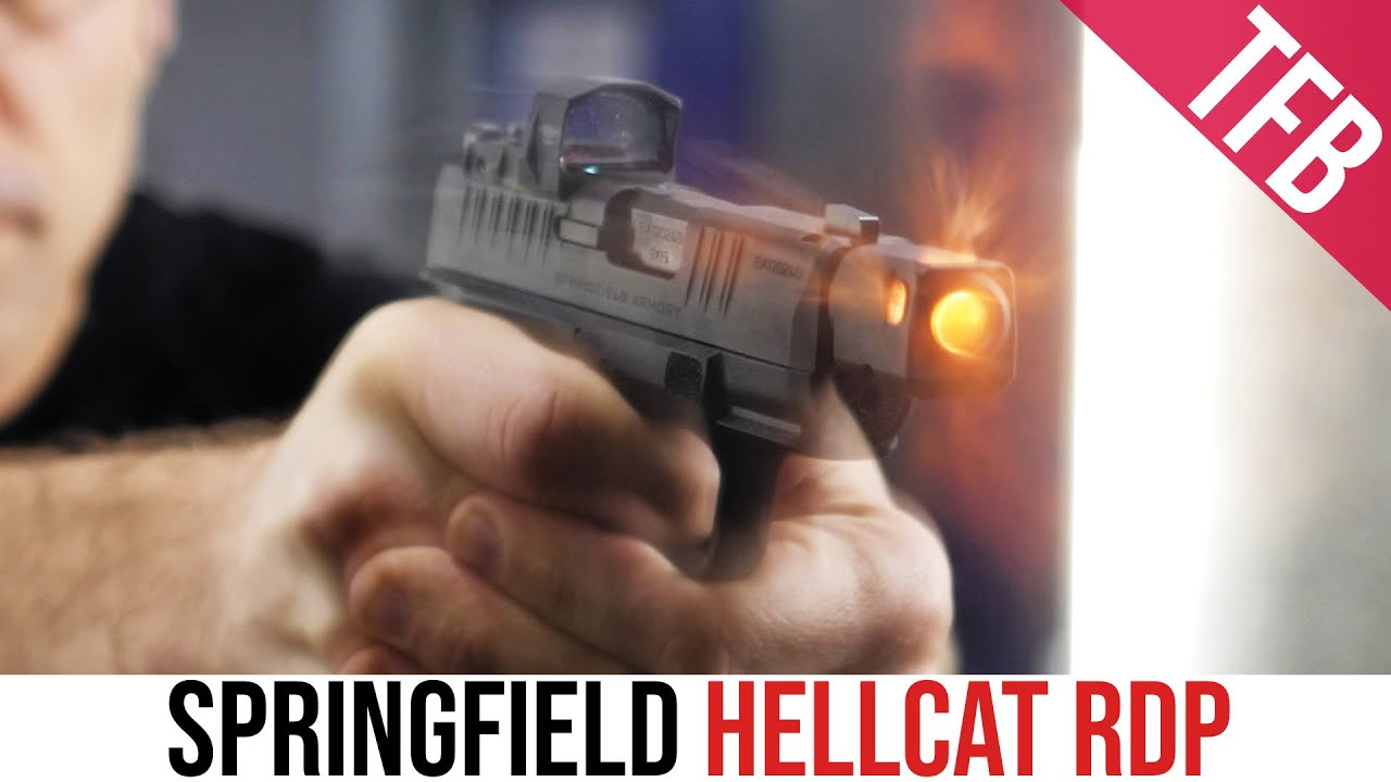 Gimmick or Good to Go? Springfield Hellcat RDP Review
