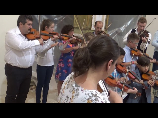 Métatábor 2018 - Koncert - Kuczera Barbara hegedűsei - Szék
