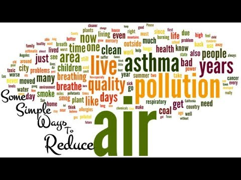 How we can Reduce Air pollution by Simple tips | Air pollution Effects | Air Polltant |