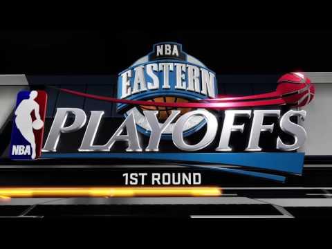NBA 2K16 - Season 2 Playoffs Game 1 Toronto