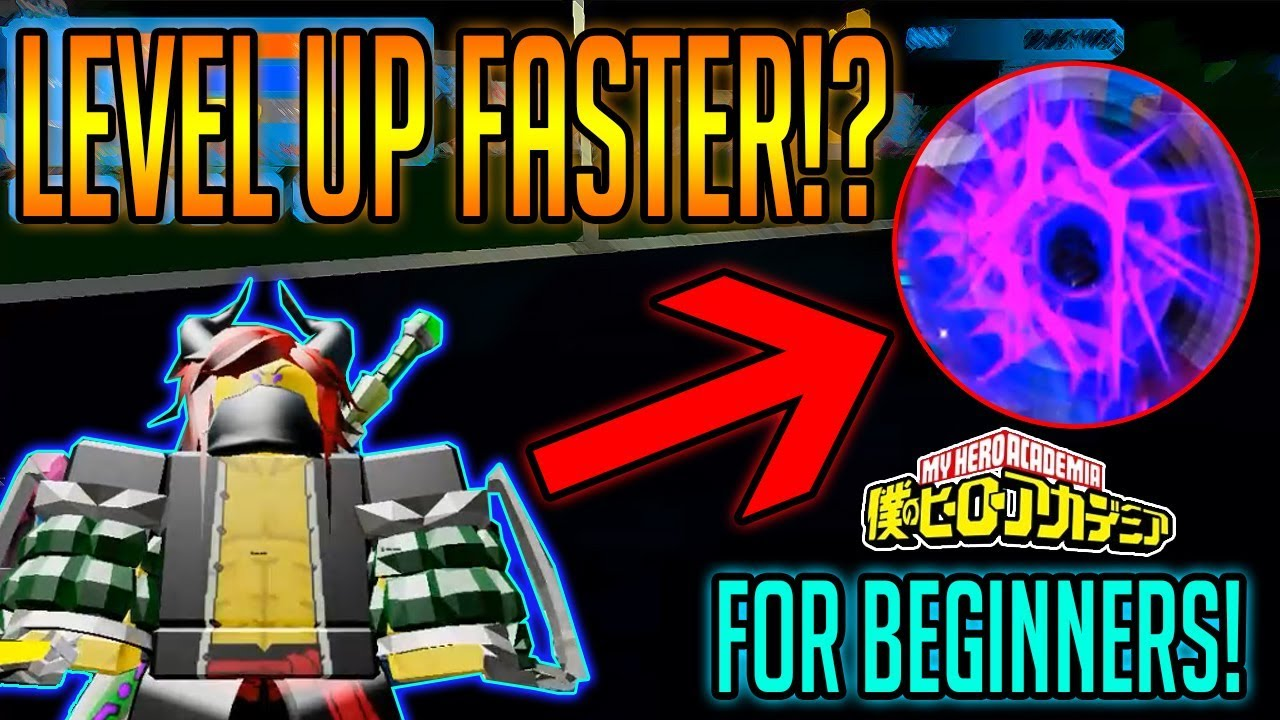 Boku No Roblox Remastered How To Level Up Fast Beginners