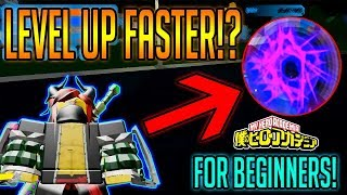 BOKU NO ROBLOX REMASTERED HOW TO LEVEL UP FAST!? BEGINNERS GUIDE! | ROBLOX | Builderboy TV