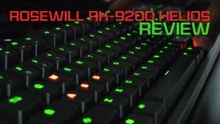 Rosewill RK-9200 Helios Mechanical Gaming Keyboard Review