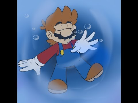 Super Mario Drowns But It's Sonic Drowning Theme Fitting
