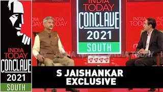 S Jaishankar Speaks About Foreign Policy, China Conflict & Covid Crisis | India Today Conclave South