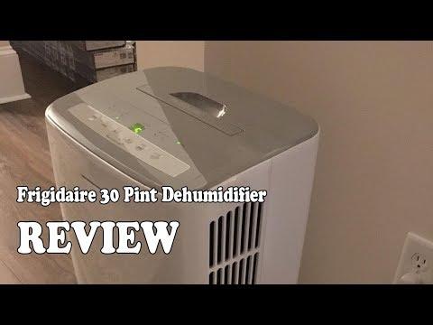 Frigidaire 30-Pint Dehumidifier - Review 2019