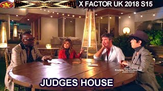 Judges Deliberation The Girls | Judges House X Factor UK 2018